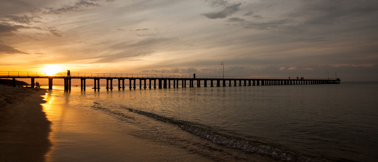 Bay Motel - Dromana Pier Sunset
